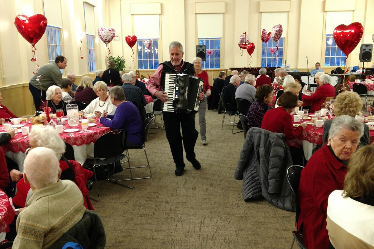 The Topsfield Congregational Church Hosted a LOVEly Valentine Dinner