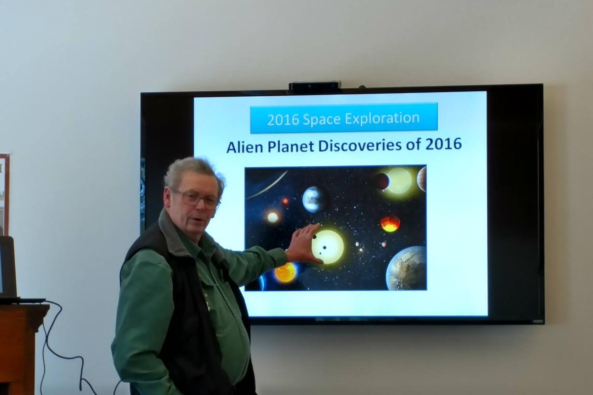 Our Favorite Mad Scientist Shares Info about New Planet Discoveries