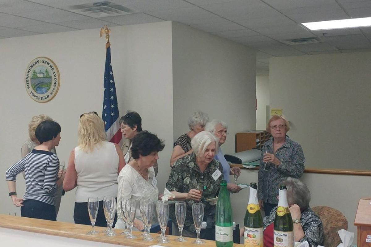 Reception for Board Members of the COA and the Friends of the COA