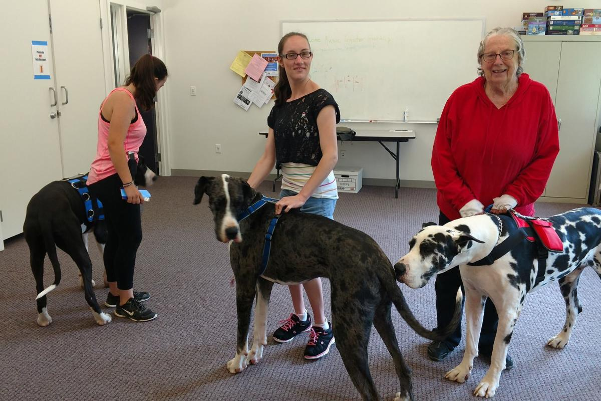 Residents of the Service Dog Project Walked on Four Paws to Coffee & Conversation