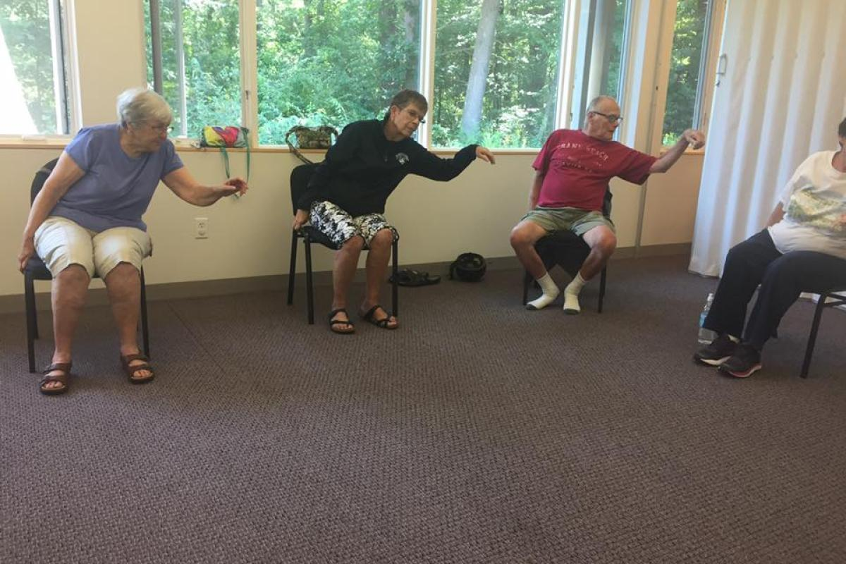 Weekly Tai Chi Classes Help Us Strengthen our Core and Maintain Our Balance