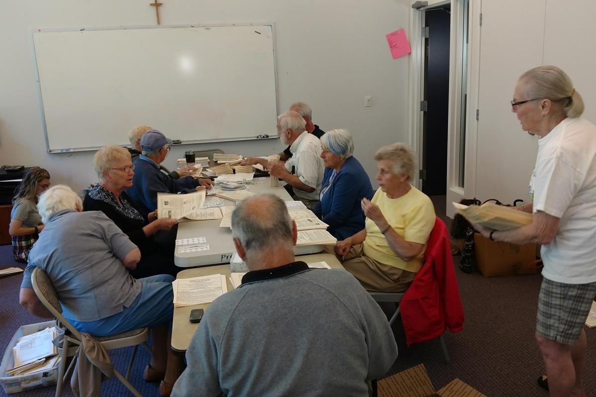 A Team of Dedicated Volunteers Gather Monthly to Assemble the Senior Scoop