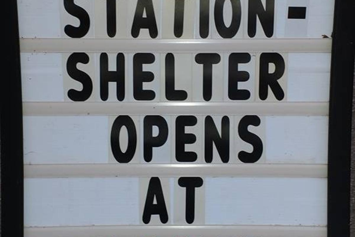 We Offered Topsfield's First Ever Comfort Station to Provide Relief During the Great Power Outage of 2017
