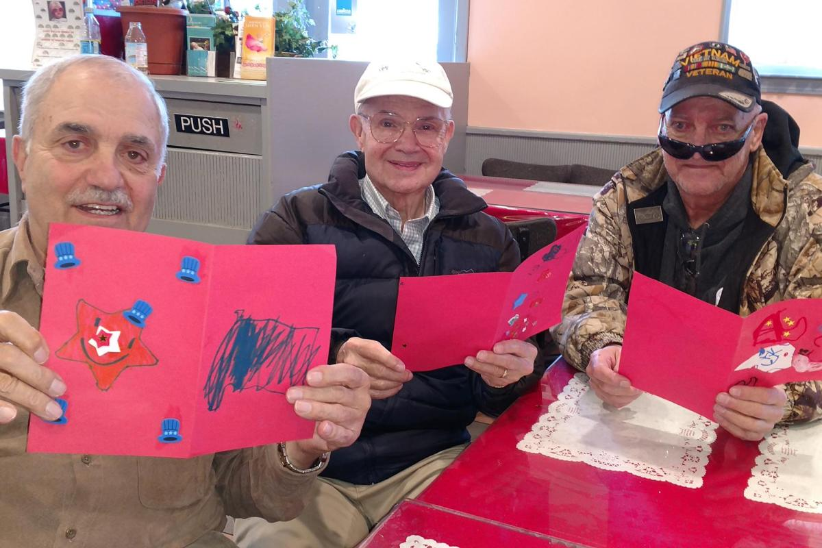 Trinity Preschoolers Send Homemade Thank You Cards to Local Veterans