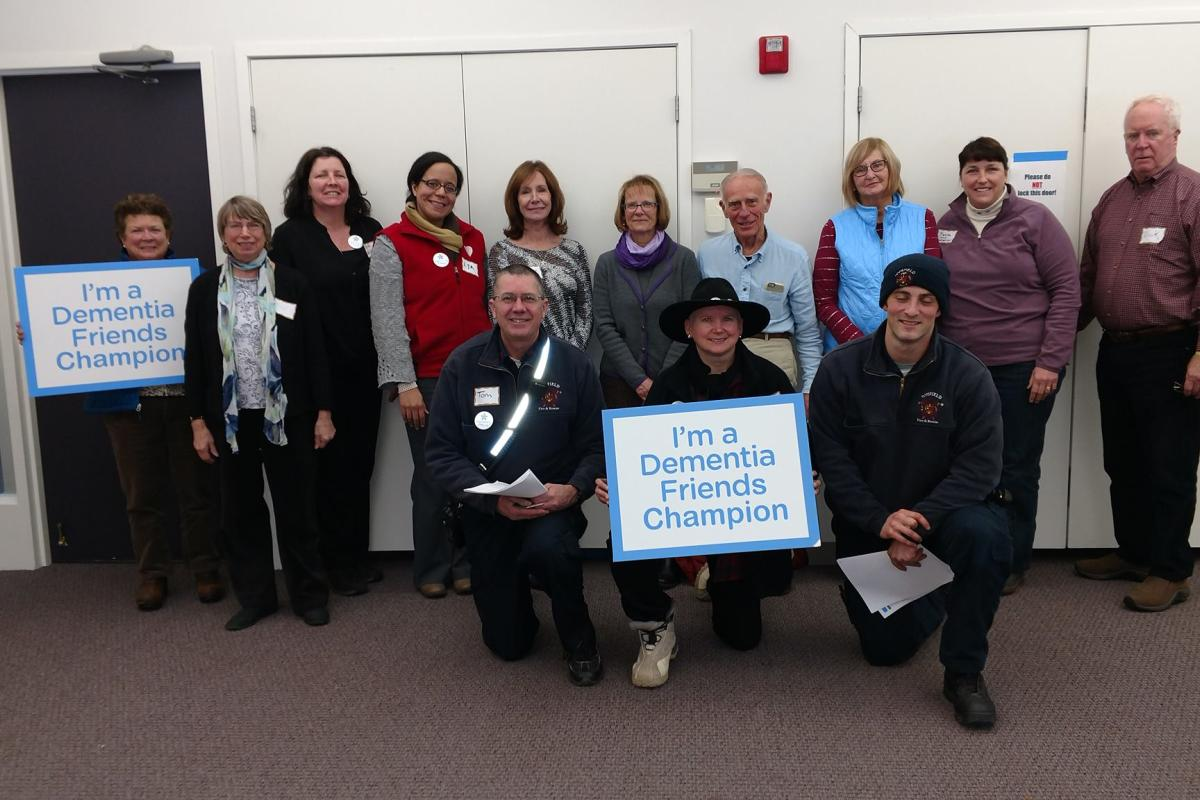 Several Stakeholders in Topsfield Became Dementia Friends Champions in Topsfield's Quest to Become a DF Community
