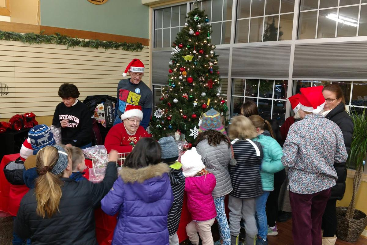 Santa's Workshop Was a Highlight for All at the Annual Holiday on the Green