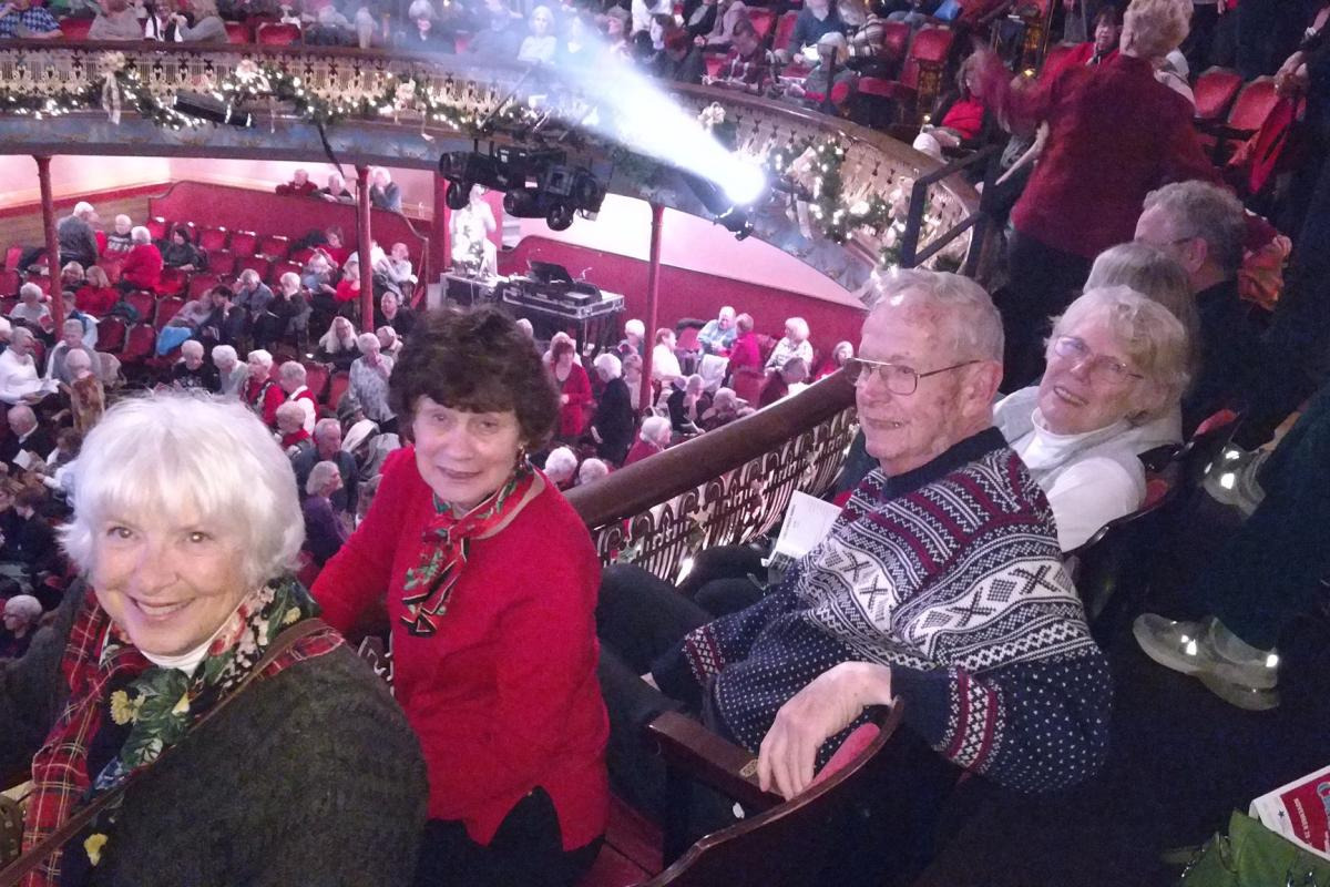 "We Watched a Fabulous Production of ""White Christmas"" at the Portsmouth Music Hall"