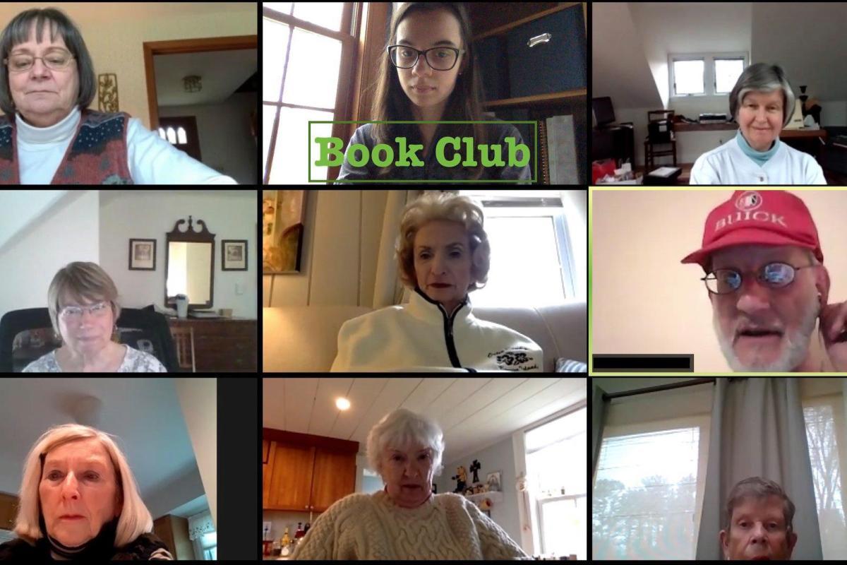 Book Club Zoom Meeting