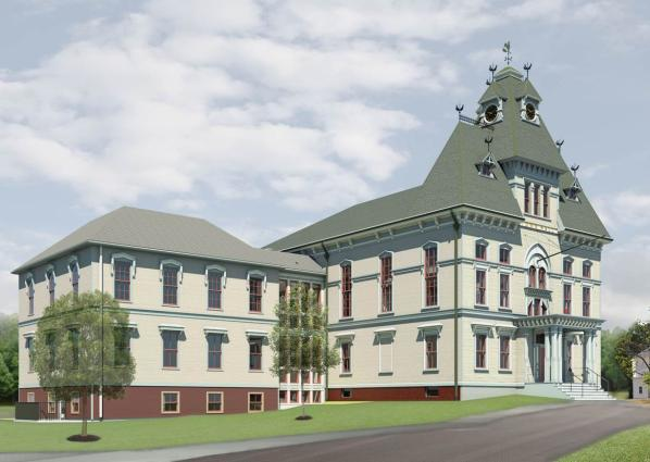 Town Hall Rendering