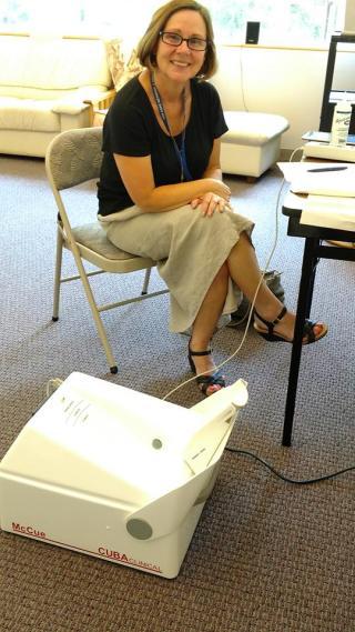 VNA Nurse at Keep Well & Blood Pressure Clinic