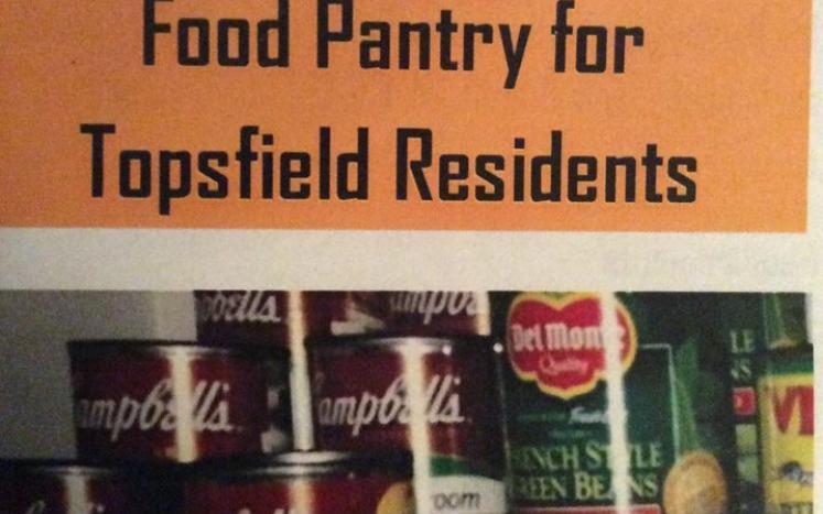 Top Cupboard Food Pantry for Topsfield Residents Brochure